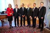 Yhdysvaltain presidentin ja pohjoismaisten päämiesten tapaaminen Tukholmassa 4.9.2013. Kuva: Martina Huber/Regeringskansliet
