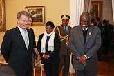 Statsbesök av Namibias president Hifikepunye Pohamba  den 11.-13. 11. 2013. Copyright © Republikens presidents kansli