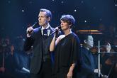 Waltteri Torikka ja Maria Ylipää esittivät Myrskyluodon Maijan.