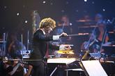 Santtu-Matias Rouvali johti Tampere Filharmoniaa.