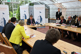 Kultaranta-keskustelujen ensimmäinen päivä 16. kesäkuuta 2013. Copyright © Tasavallan presidentin kanslia