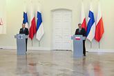 Presidenttien lehdistötilaisuus Varsovassa 31. maaliskuuta 2015. Copyright © Tasavallan presidentin kanslia