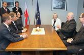 Presidentti Niinistö tapasi Puolan entisen presidentin, Solidaarisuusliikkeen perustajan Lech Walesan Gdanskissa. Copyright © Tasavallan presidentin kanslia