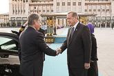 Turkin presidentti Recep Tayyip Erdoğan puolisoineen vastaanotti presidenttiparin viralliselle vierailulle Turkkiin. Copyright © Tasavallan presidentin kanslia