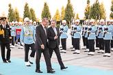 Virallisen vierailun vastaanottoseremoniat Ankarassa 14. lokakuuta 2015. Copyright © Tasavallan presidentin kanslia
