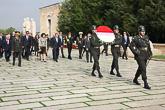 Vierailun virallinen osuus alkoi pääkaupungissa Ankarassa tiistaina 13. lokakuuta seppeleenlaskulla Atatürkin mausoleumissa. Copyright © Tasavallan presidentin kanslia