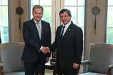 Presidentti Niinistö ja Turkin pääministeri Ahmet Davutoğlu tapasivat Ankarassa tiistaina 13. lokakuuta. Copyright © Tasavallan presidentin kanslia