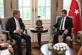 Presidentin Niinistön ja pääministeri Davutoğlun keskusteluissa oli kahdenvälisten suhteiden lisäksi erityisesti Syyrian tilanne. Copyright © Tasavallan presidentin kanslia