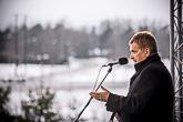 Presidentti puhui Laitilassa. Copyright © Tasavallan presidentin kanslia