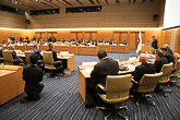 Presidentti Niinistö puhui Suomen ja Japanin strategista kumppanuutta koskevassa seminaarissa Japanin parlamentissa keskiviikkona 9. maaliskuuta 2016. Copyright © Tasavallan presidentin kanslia