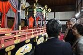 Vierailun ohjelmaan kuului myös tutustuminen Keisarilliseen palatsiin Kiotossa. Copyright © Tasavallan presidentin kanslia