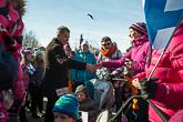 Muoniolaiset tapaamassa presidenttiä. Kuva: Matti Porre / Tasavallan presidentin kanslia