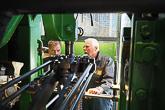 Merenkulkumuseon Mahtavat masiinat -näyttelyssä selviää, miten höyrykone saa laivan liikkumaan. Kuva: Katri Makkonen/Tasavallan presidentin kanslia