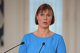 Visit of President of Estonia Kersti Kaljulaid on 20 October 2015. Photo: Juhani Kandell/Office of the President of the Republic of Finland