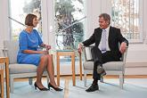 Viron presidentti Kersti Kaljulaid vieraili Suomessa torstaina 20. lokakuuta 2016. Kuva: Juhani Kandell/Tasavallan presidentin kanslia