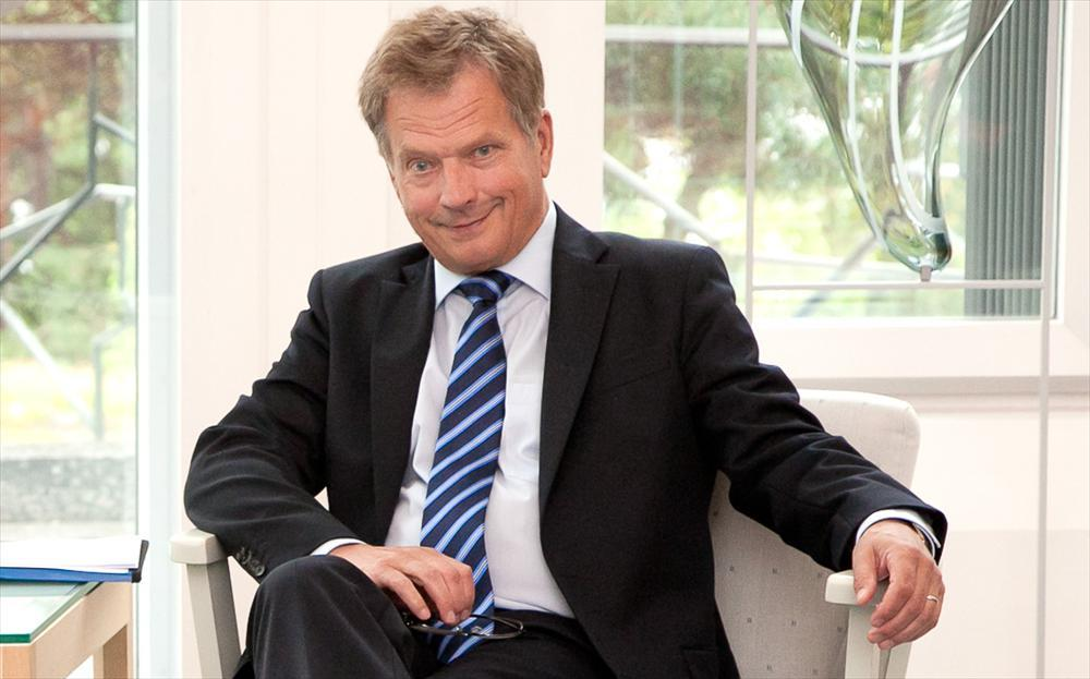 The climate change is the number one threat to the Arctic region, President Niinistö writes.