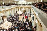 Vuonna 2014 itsenäisyyspäivän vastaanotto palasi peruskorjauksen valmistuttua Presidentinlinnaan. Copyright © Tasavallan presidentin kanslia