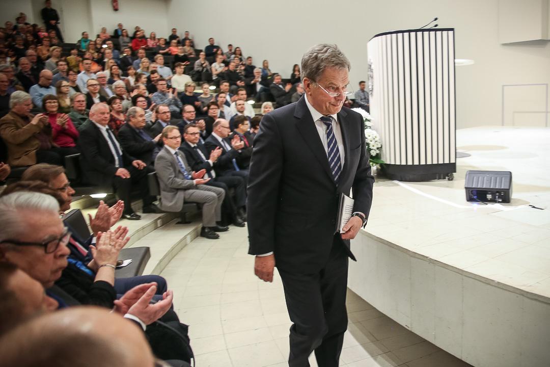 Kuva: Matti Porre/Tasavallan presidentin kanslia<br/>