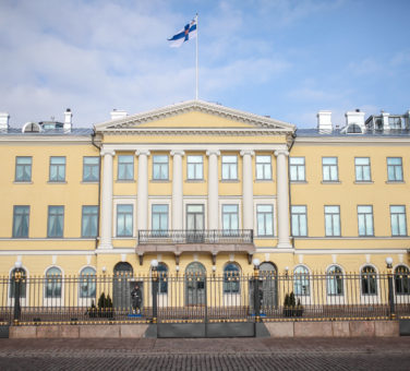 The Presidential Palace. Photo: Matti Porre/Office of the President of the Republic of Finland
