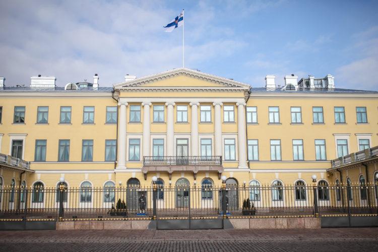 Presidentens slott. Foto: Matti Porre / Republikens presidents kansli