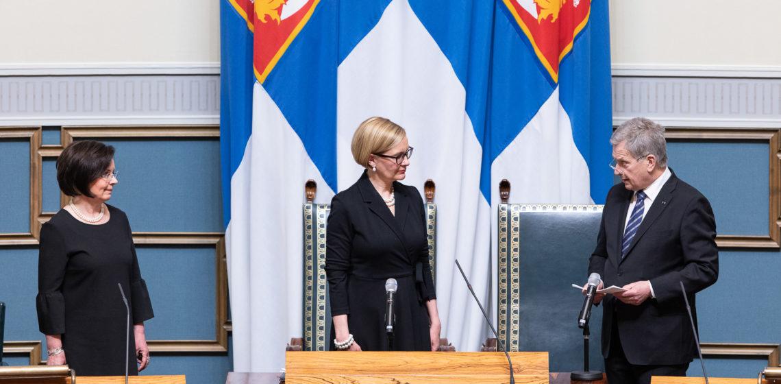 Foto: Hanne Salonen / Eduskunta
