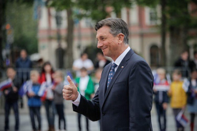 Slovenian presidentti Borut Pahor. Kuva: Matti Porre/Tasavallan presidentin kanslia