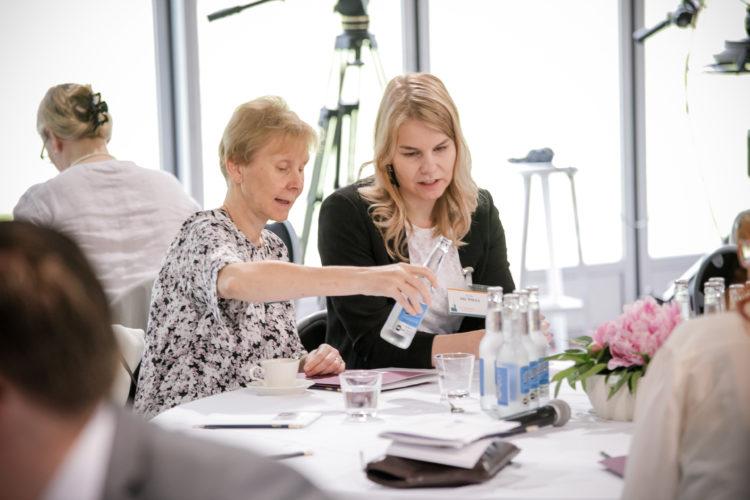 Aamukeskustelun aiheena oli Suomi – eurooppalaisen turvallisuuden tekijä? Kuva: Matti Porre/Tasavallan presidentin kanslia