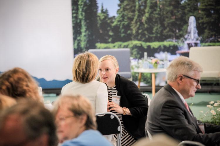 Aamukeskustelun aiheena oli Suomi – eurooppalaisen turvallisuuden tekijä? Kuva: Juhani Kandell/Tasavallan presidentin kanslia
