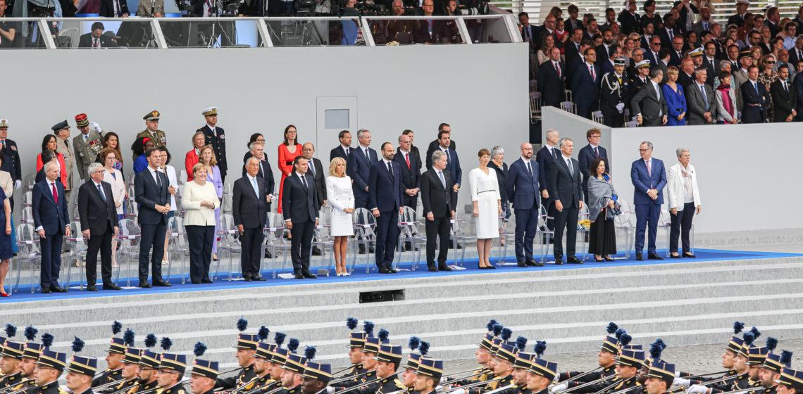 President Niinisto Firade Franska Nationaldagen I Paris Sakerheten I Europa I Fokus For Diskussionen Presidentti
