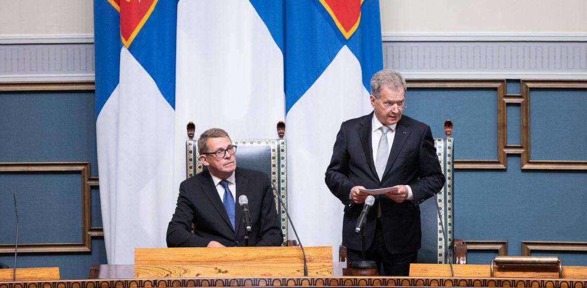 Photo: Hanne Salonen / Parliament of Finland