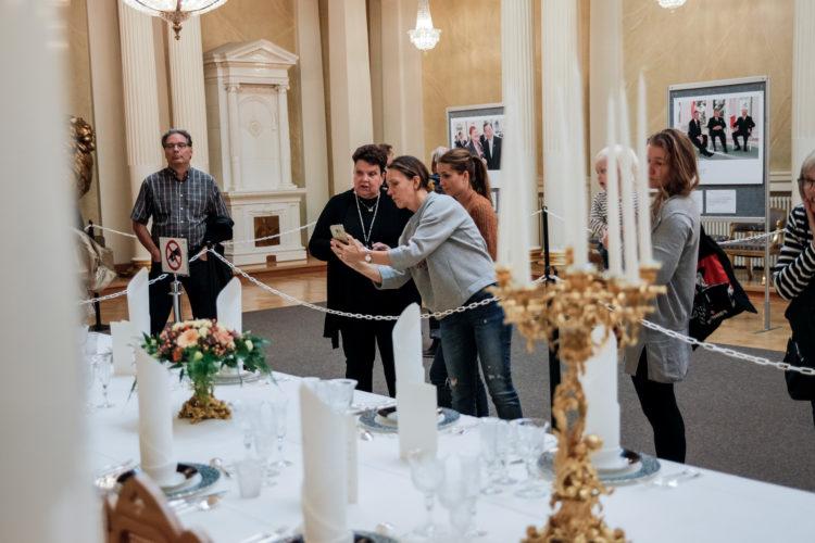 Avoimet ovet Presidentinlinnassa 12.–14. syyskuuta 2019.