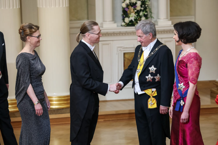 Independence Day Reception on 6 December 2019. Photo: Antti Nikkanen/Office of the President of the Republic of Finland