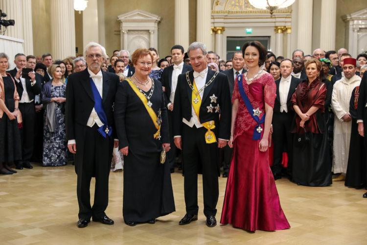 Itsenäisyyspäivän juhlavastaanotto 6.12.2019. Kuva: Antti Nikkanen/Tasavallan presidentin kanslia