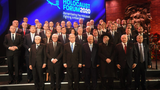 Close to 40 Heads of State and Government participated in the event at the invitation of President of Israel Reuven Rivlin. Photo: GPO