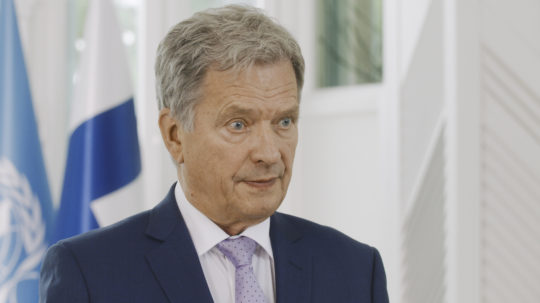 President Niinistö addressed the SDG Moment convened by the UN Secretary-General António Guterres on Friday, 18th September.