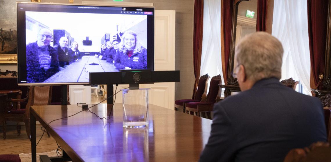 Foto: Jon Norppa/Republikens presidents kansli