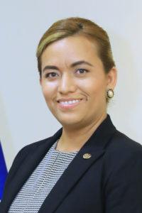 El Salvadors ambassadör Patricia Nathaly Godínez