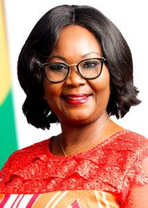 Ghanas ambassadör Jennifer Lartey