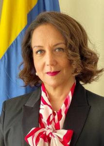Colombias ambassadör Adriana Mendoza Agudelo.