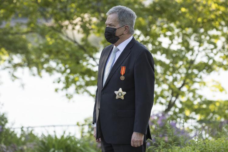 Tasavallan presidentti Sauli Niinistö. Kuva: Jon Norppa/Tasavallan presidentin kanslia