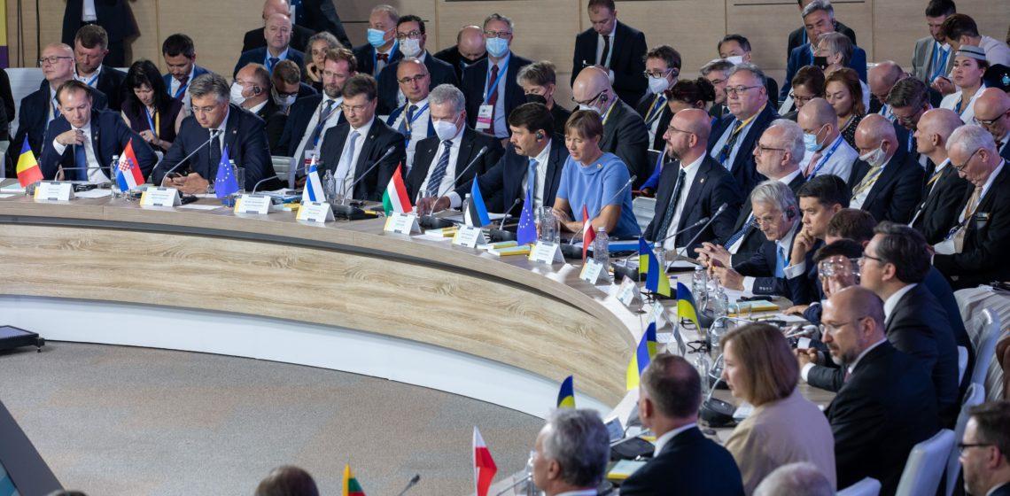 Republikens president Sauli Niinistö deltog i Krimplattformens toppmöte (Crimea Platform) i Kiev i Ukraina den 23 augusti 2021. Foto: Matti Porre/Republikens presidents kansli