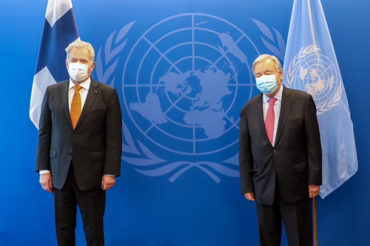 Foto: Satu Järveläinen/Finlands ständiga representation vid Förenta nationerna